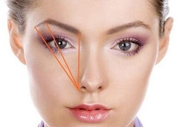 Подобрать форму бровей онлайн по фотографии бесплатно по типу лица   422x600