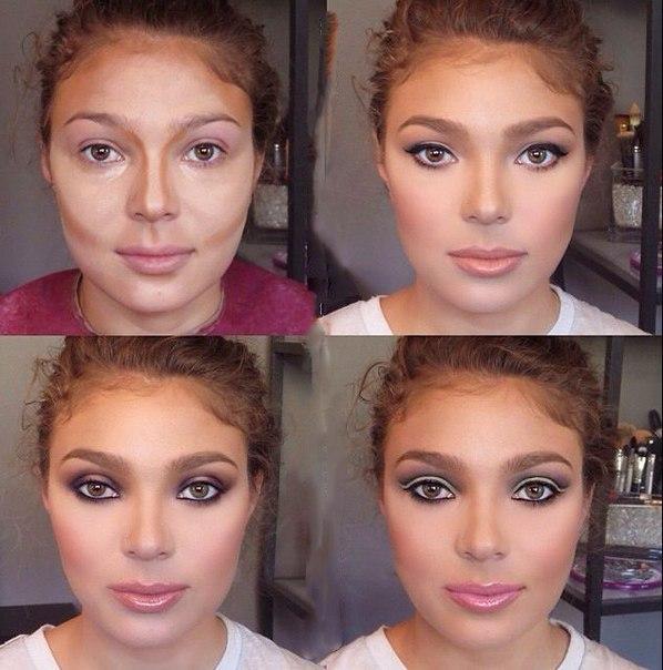 макияж лица пошаговое фото в домашних условиях чучело кубинского