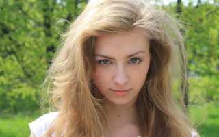 Каким цветом красить брови русым девушкам