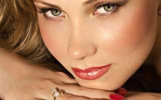 Повседневный макияж для зеленых глаз пошагово