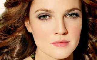 Зеленый макияж для карих глаз