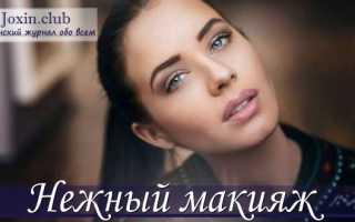 Как сделать нежный макияж