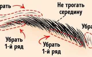 Как правильно подвести брови карандашом