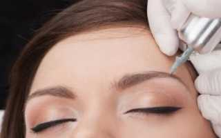 Как часто делать коррекцию бровей