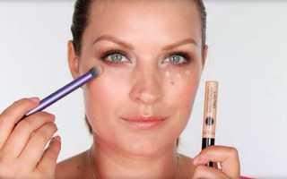Как красить лицо консилером