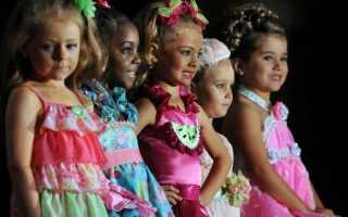 Макияж для маленьких девочек