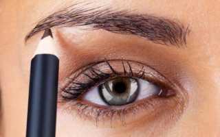 Как выбрать цвет карандаша для бровей