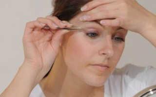 Как научиться щипать брови