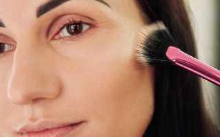 Как наносить хайлайтер на круглое лицо