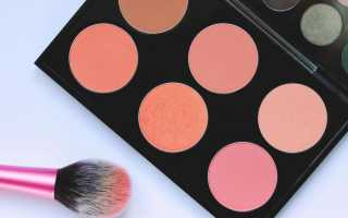 Как правильно подобрать румяна к цвету кожи