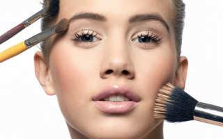 Как красить овальное лицо