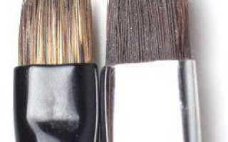 Кисточка для покраски бровей