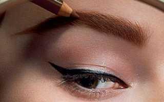 Как и чем красить брови