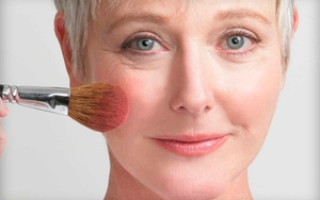 Возрастной макияж для карих глаз