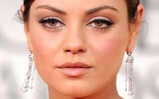 Как скорректировать круглое лицо с помощью макияжа