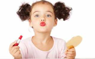 Детский макияж для фотосессии