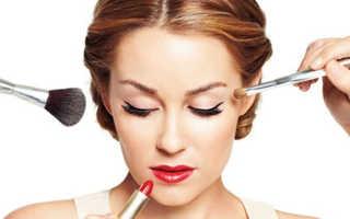 Как правильно наносить макияж пошагово