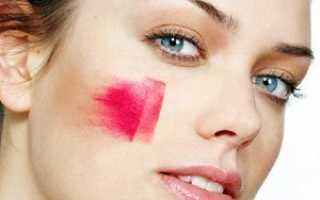 Как красить румяна чтобы сузить лицо