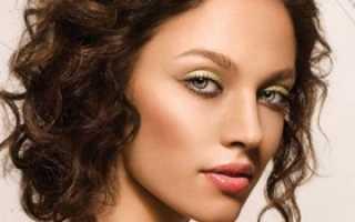 Естественный макияж для зеленых глаз