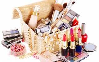 Список косметики для макияжа