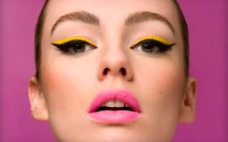 Как сделать макияж кошачий взгляд