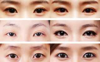 Как накрасить азиатские глаза