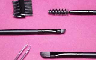 Как правильно красить брови черным карандашом