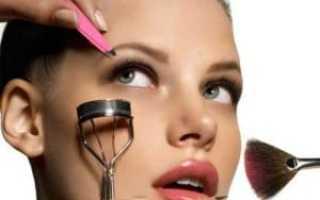 Как правильно красить лицо схема