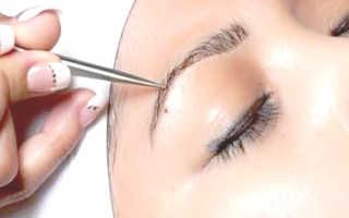 Восстановление бровей с наращиванием волосков