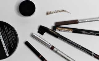 Как подобрать цвет карандаша для бровей
