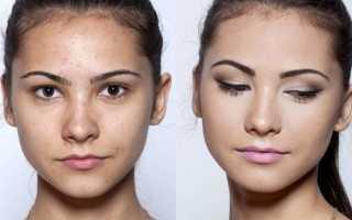 Незаметный макияж в школу
