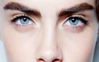 Как отрастить красивые брови